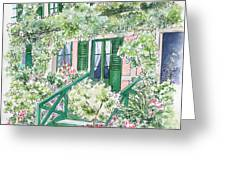 Giverny Welcome Greeting Card