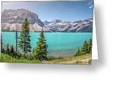 Glacial Colors Greeting Card