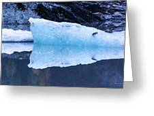 Glacial Ice Greeting Card