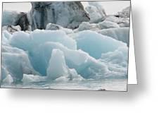 Glacial Lagoon Iceland Greeting Card