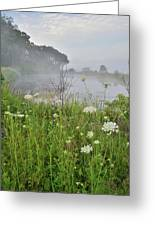Glacial Park Pond Reflection Greeting Card