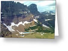 Glacial Pond Greeting Card