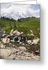 Glacial Runoff Greeting Card