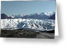 Glacial Terminus Greeting Card