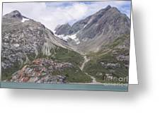 Glaciated Valley Greeting Card