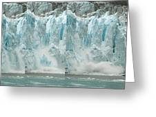 Glacier Calving Sequence 2 V2 Greeting Card