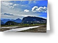 Glacier Country Park Greeting Card