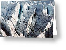 Glacier Detail Greeting Card