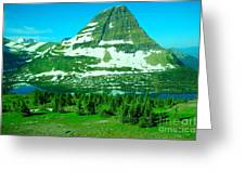 Glacier Formed Greeting Card
