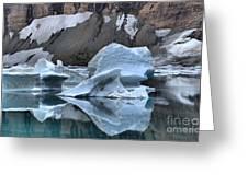 Glacier Iceberg Reflections Greeting Card