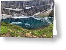 Glacier Icebergs Greeting Card