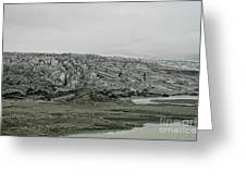 Glacier In Iceland Greeting Card