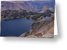 Glacier Lake 2 Greeting Card