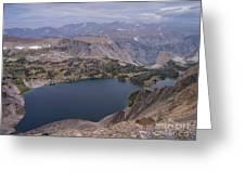 Glacier Lake 3 Greeting Card