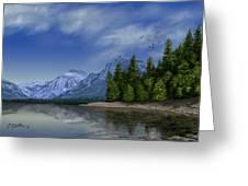 Glacier Naional Park Greeting Card