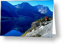 Glacier National Park #1 Greeting Card