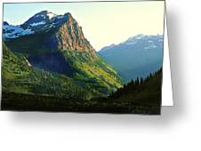Glacier National Park 2 Greeting Card