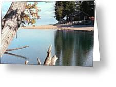 Glacier National Park 4 Greeting Card by Deahn      Benware