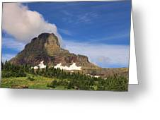 Glacier National Park At Logan Pass Greeting Card