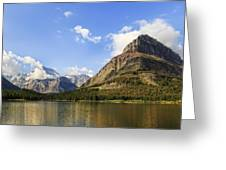 Glacier National Park Mountains Greeting Card