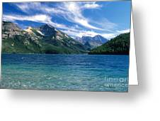 Glacier National Park Greeting Card