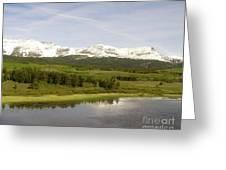 Glacier National Park Scenic Greeting Card