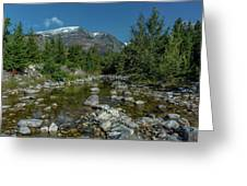 Glacier National Park-st Mary's River Greeting Card