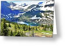 Glacier National Park2 Greeting Card