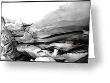 Glacier Nude Greeting Card by Wayne King