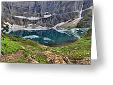 Glacier Paradise Greeting Card