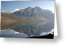 Glacier Reflection1 Greeting Card