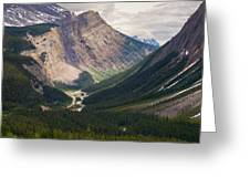 Glacier Road Greeting Card by Stuart Deacon