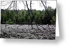 Glacier Rock 1 Greeting Card