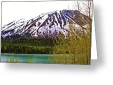 Glacier Waters Greeting Card