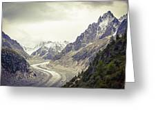 Glacierway Greeting Card