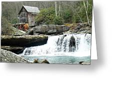Glade Creek Grist Mill In Color Greeting Card