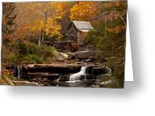 Glades Creek Mill Greeting Card