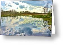 Glades Reflective 2 Greeting Card