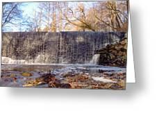 Gladwyne - Dove Lake Waterfall Panorama Greeting Card