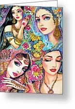 Glamorous India Greeting Card