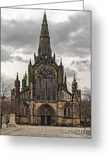 Glasgow Cathedral Front Entrance Greeting Card