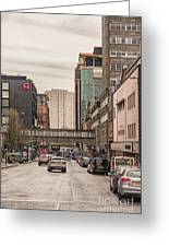 Glasgow Renfield Street Greeting Card