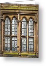 Glasgow Unversity Window Greeting Card