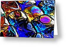 Glass Abstract 11 Greeting Card