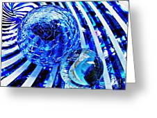 Glass Abstract 110 Greeting Card