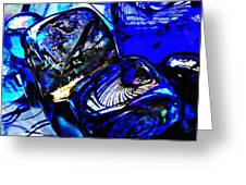 Glass Abstract 14 Greeting Card