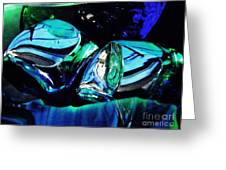 Glass Abstract 141 Greeting Card