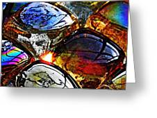 Glass Abstract 2 Greeting Card