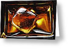Glass Abstract 317 Greeting Card