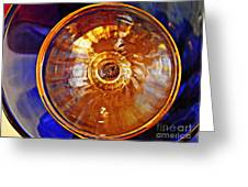 Glass Abstract 577 Greeting Card